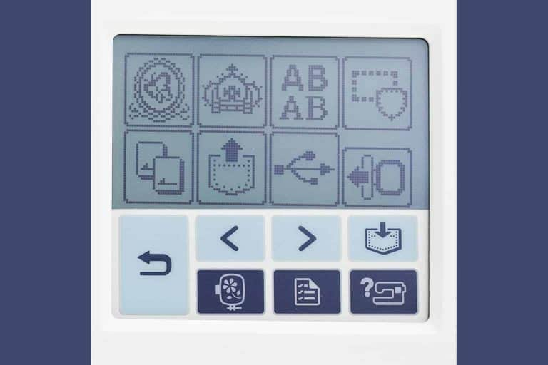 Brother PE-770 LCD Touchscreen Display
