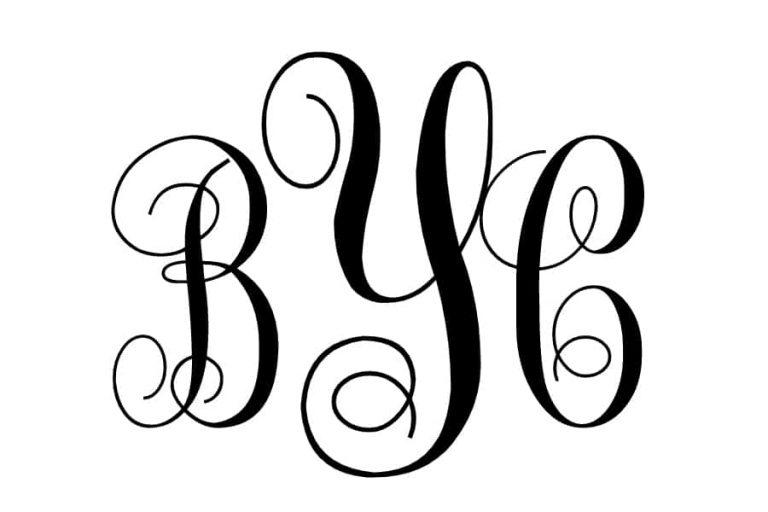BYC Monogram