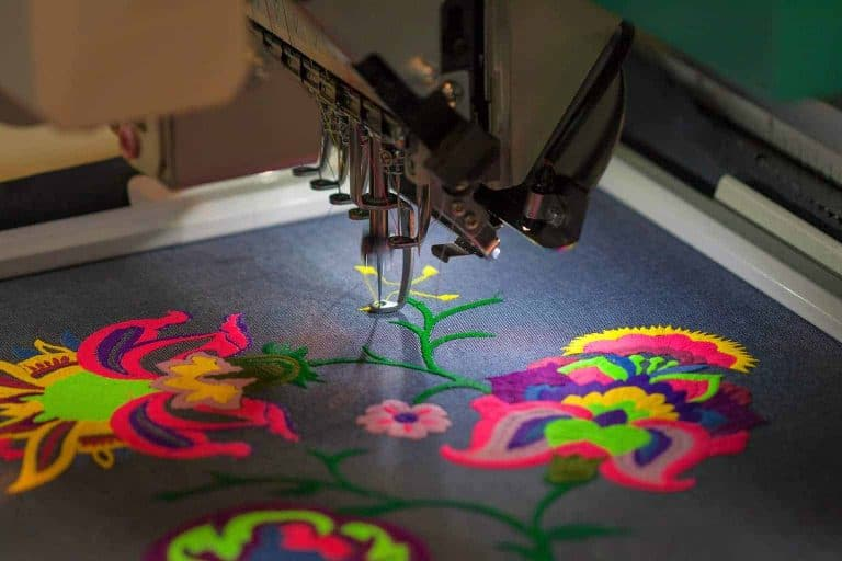 Colorful Floral Embroidery