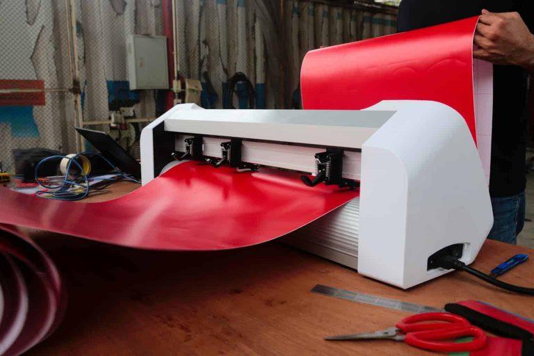 Cutting Red Vinyl