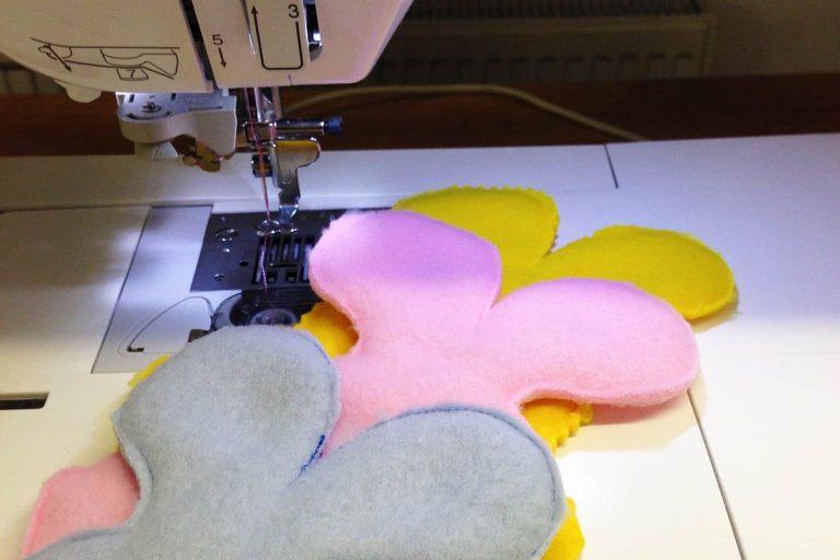 Felt Fabrics on a Sewing Machine
