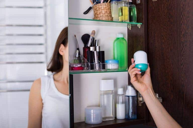 Getting an Item on a Medicine Cabinet