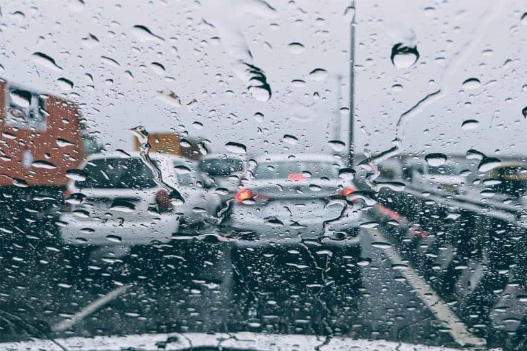 Heavy Rain During Traffic