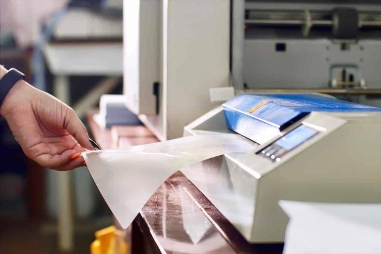 Laminating a Print