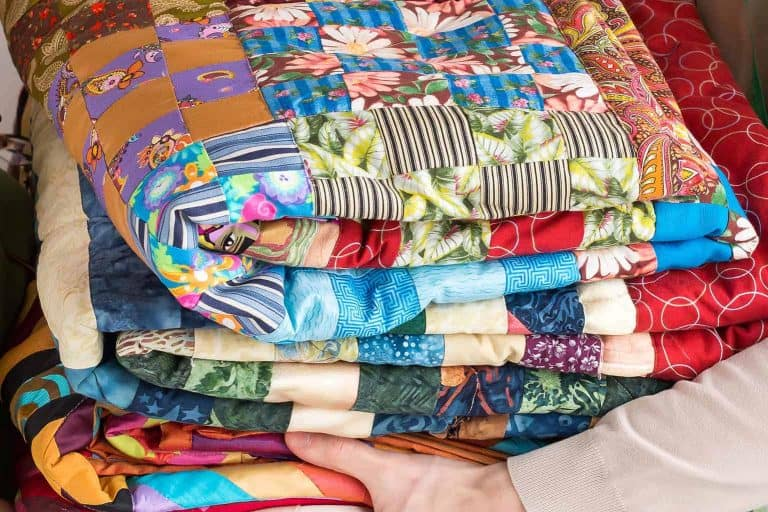 Pile of Quilt Projects