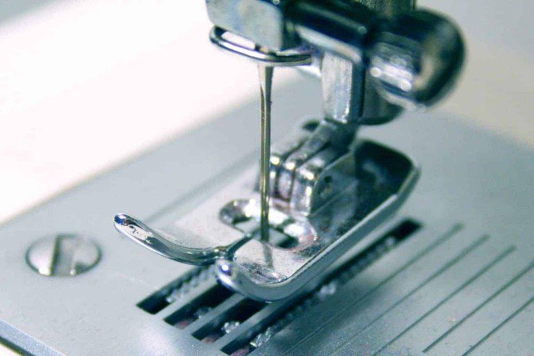 Presser Foot Close Up