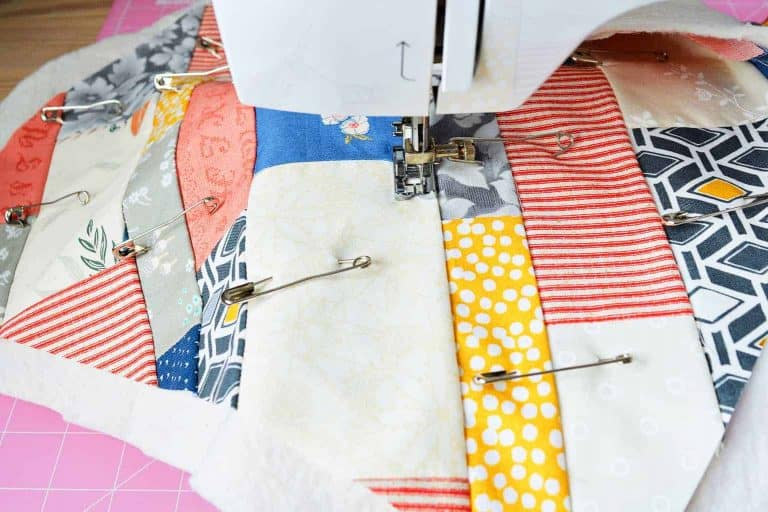 Quilting on a Machine