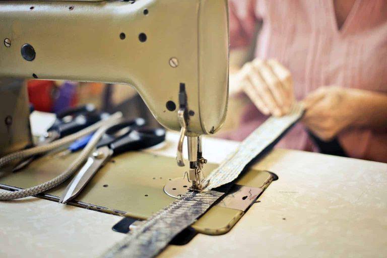 Sewing Black Strap Material