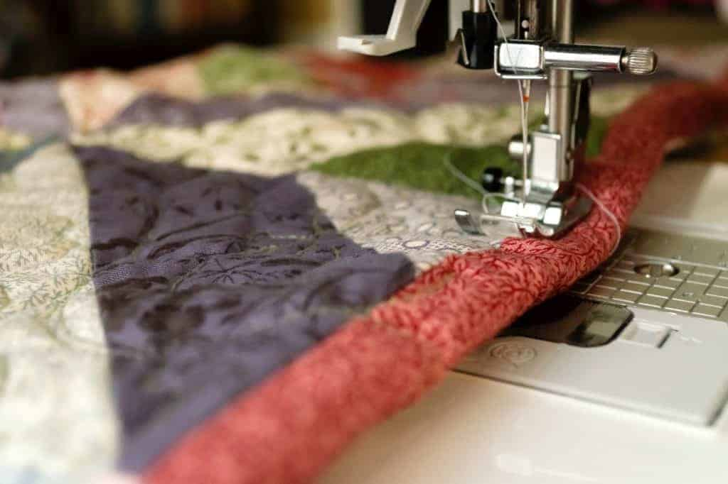 Sewing a Rug