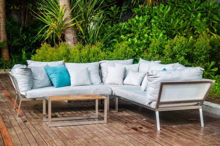 Stainless Outdoor Sofa